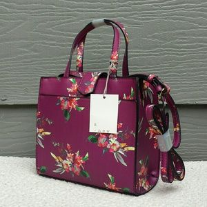 a.n.d  Small Floral Crossbody Purse